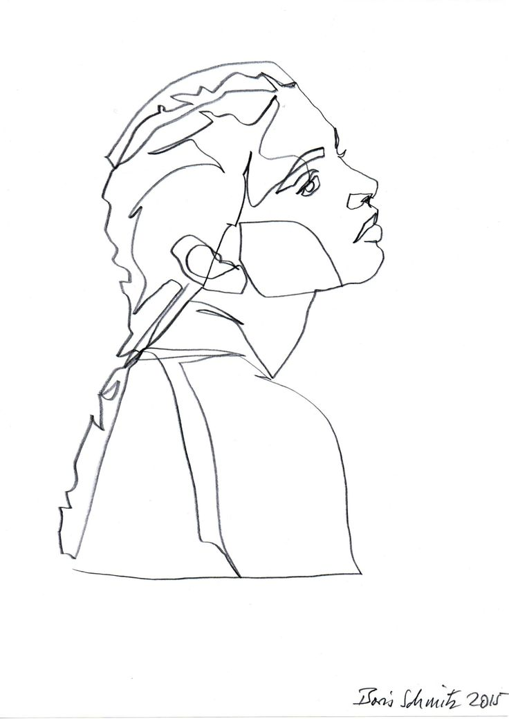 Continuous Line Drawing Of A Face : Best continues line drawing images on pinterest