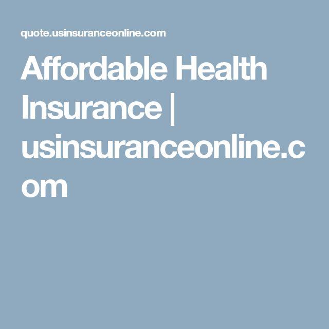 Affordable Health Insurance | usinsuranceonline.com