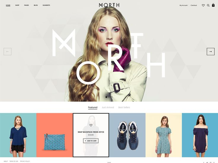 Hi Everyone! I'm proud to introduce our newest WordPress theme, North - a beautiful e-commerce theme with an incredible design – complete with Wishlist, Table Rate Shipping & PDF Invoice featu...