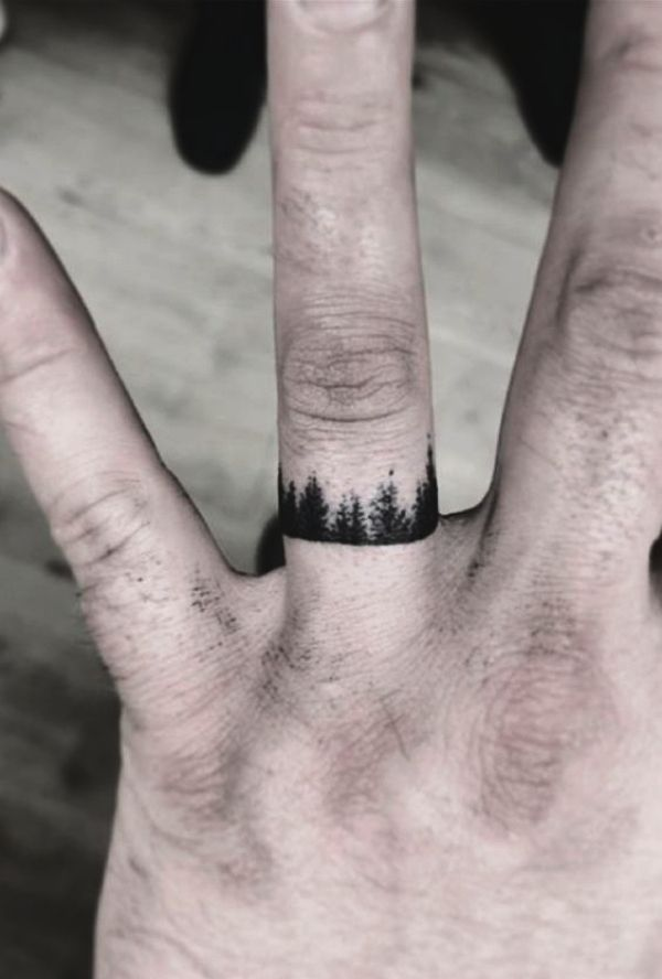 55 Small Tattoo Designs For Men With Deep Meanings Finger