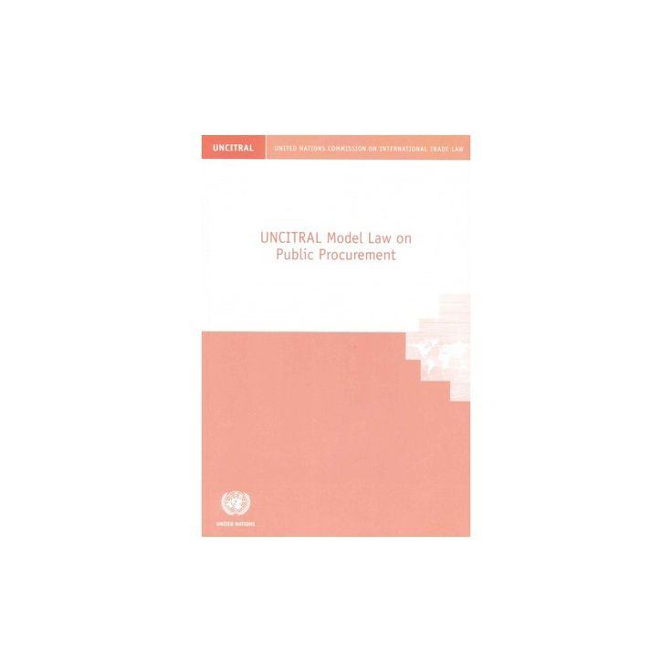 Uncitral Model Law on Public Procurement (Paperback)