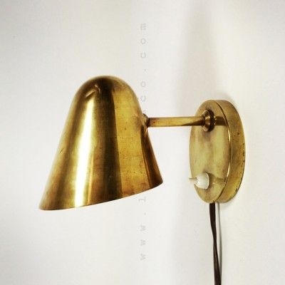 Located using retrostart.com > Wall Lamp by Jacques Biny for Unknown Manufacturer