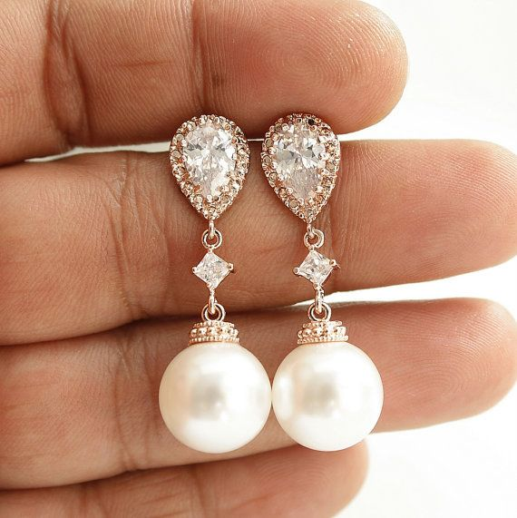 Best 25 Pearl Earrings Wedding Ideas On Pinterest Pearl