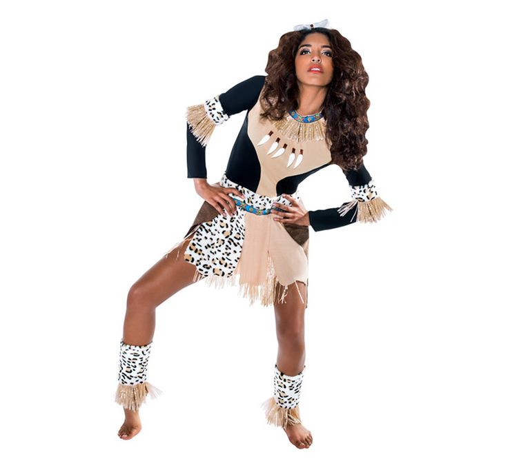 Disfraz de Guerrera Zulú para mujer en varias tallas. Incluye vestido, brazaletes, cubrepiernas y tocado. Completa este disfraz con artículos de nuestra sección de accesorios como lanza, bastón, huesos, peluca, colgante o maquillaje. Perfecto para carnaval. No olvides que dispones de 15 días para la devolución.