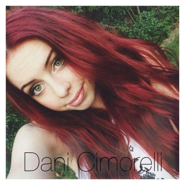 """Beautiful Dani Cimorelli"" by delena-swift ❤ liked on Polyvore featuring hair, Cimorelli and Danicimorelli"