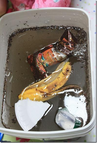 Earth Day Experiment - Can You Undo Water Pollution?