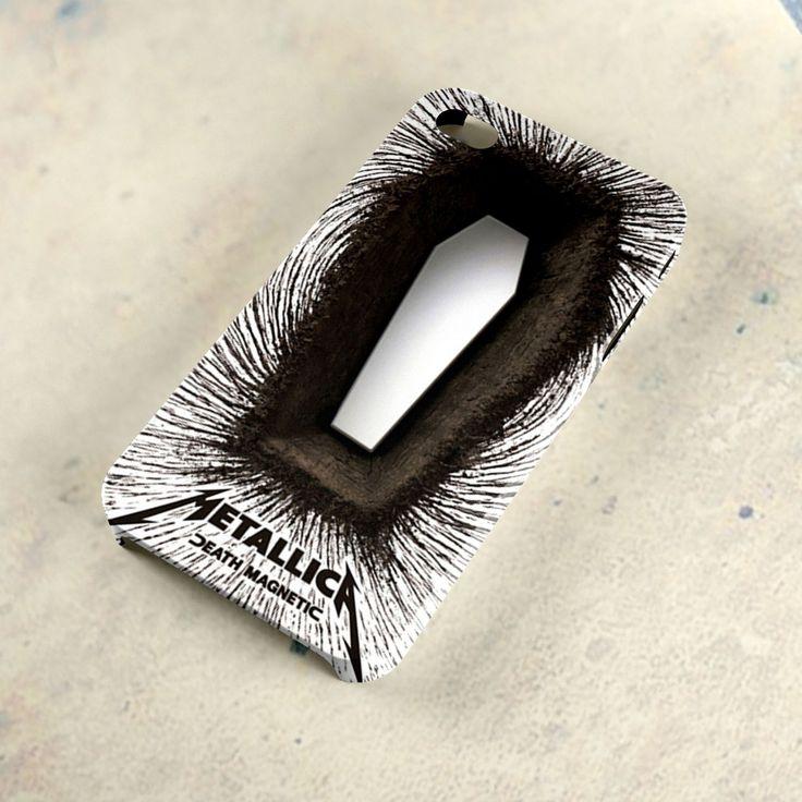 Metallica+Death+Magnetic+Cover+Album+iPhone+4/4s+Case