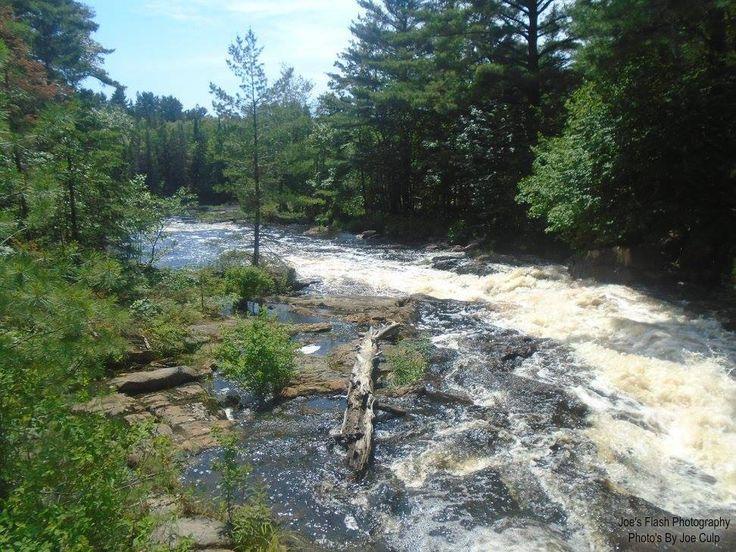 The Seguin Rapids off South seguin Estates Road in seguin Township