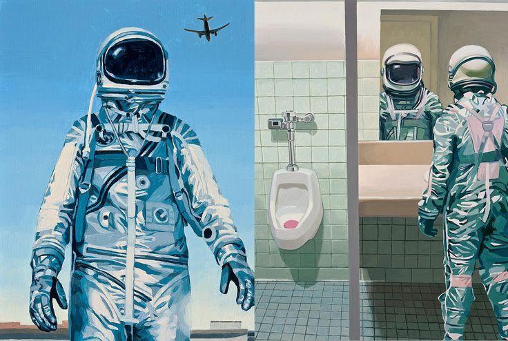 Astronautas de Scott Listfield