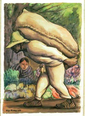 Campesino 1938  Diego Rivera