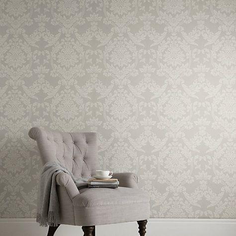 Buy John Lewis Ornamental Damask Wallpaper Online at johnlewis.com