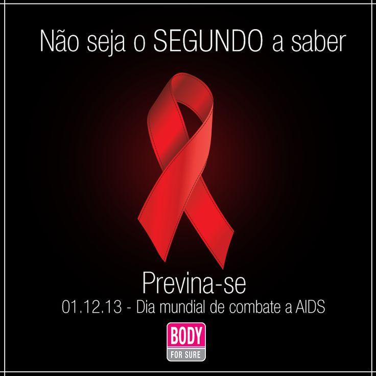 No dia mundial de combate a AIDS, vale botar a mão na consciência e na camisinha. Previna-se!