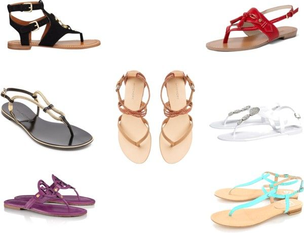 Flat sandals for Spring are highly underrated in my opinion. Pair them with  skinny jeans by day, a flirty dress for brunch, or shorts to make your legs  look ...