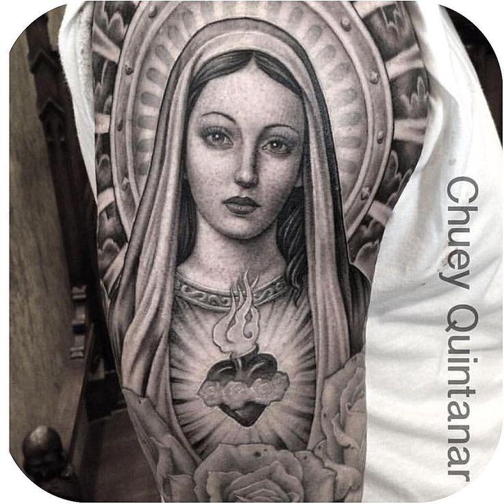 """Pray for us sinners @chueyquintanar #tattoodo"""