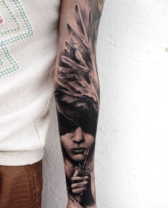 "Tattoo ""Sleeve"" for girls and boys"