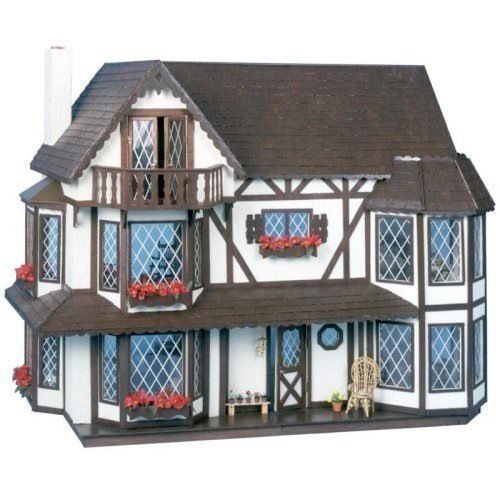 Greenleaf - The Harrison Dollhouse - Wood / Wooden Dollhouse Kit