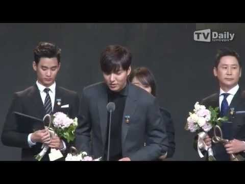 141117 Lee Min Ho @ 2014 Korean Popular Culture & Arts Awards