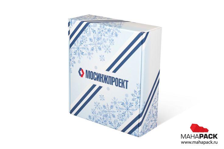 Коробка-самолёт с ложементом из МГК для сувенира под заказ