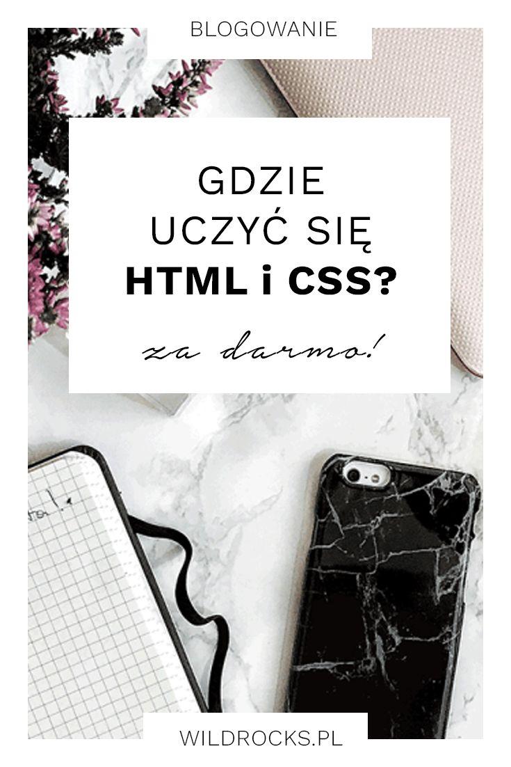 Każdy bloger powinien znać przynajmniej podstawy HTML i CSS. Pytanie tylko gdzie ich się uczyć? I to najlepiej za darmo? W poście podpowiadam dlaczego warto nauczyć się przynajmniej podstaw HTMLa i CSSa i gdzie w sieci znajdziesz darmowe materiały do nauki.