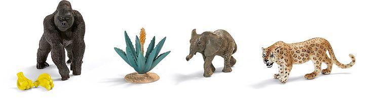 Schleich 41403 - Dschungel Set: Amazon.de: Spielzeug