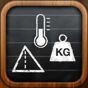 Convert - the unit calculator. Amazing UI and best conversion app for iPhone. $2.99