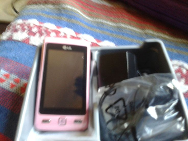 LG Cookie KP501 - Pink (Orange) Mobile Phone