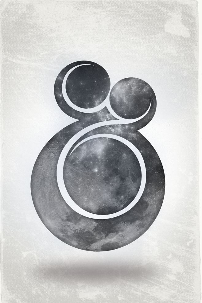 Moon Ampersand | Designer: Patrick BroomDesign Inspiration, Logo, Patricks Broom, Art, Typography Crushes, Graphics Design, Moon Ampersand, Letters, Ampersand Moon