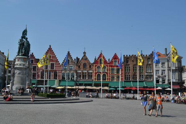 Brujas, la ciudad medieval de Europa
