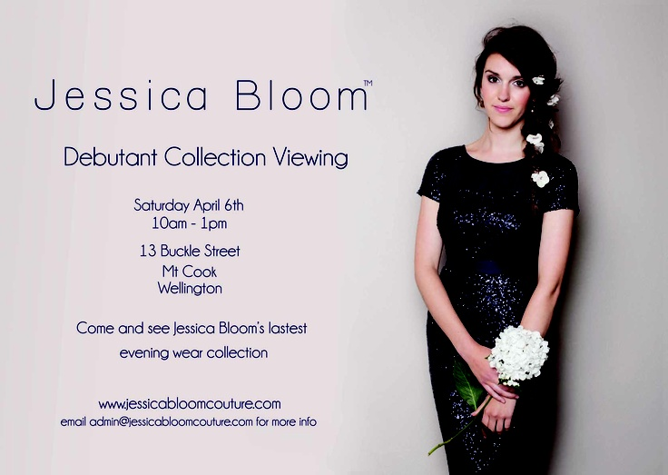 If you live in Wellington NZ come and see our Debutante collection!