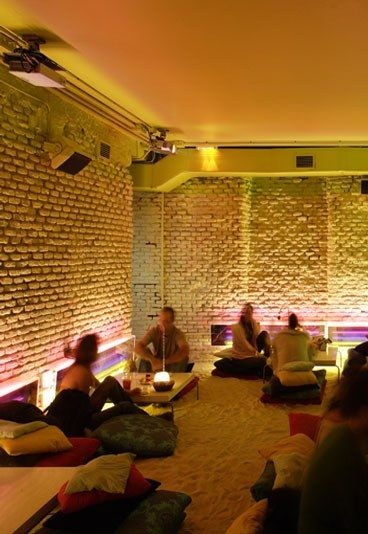 Restaurantes Diferentes en Madrid: Con arena de playa - Los diez Restaurantes más Originales