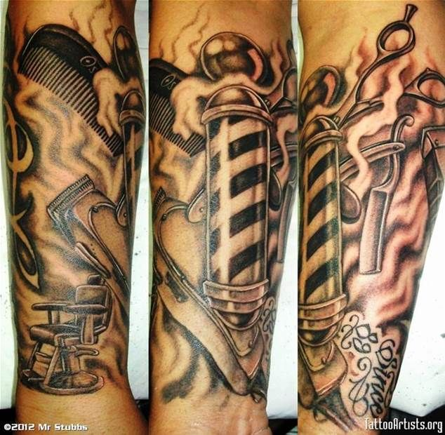 Barber Tattoos - Bing Images
