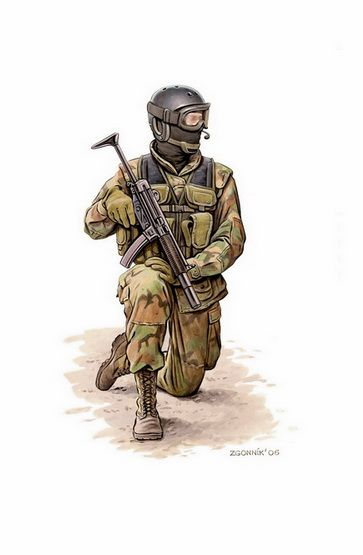 MILITARY ART OF DMYTRO ZGONNIK
