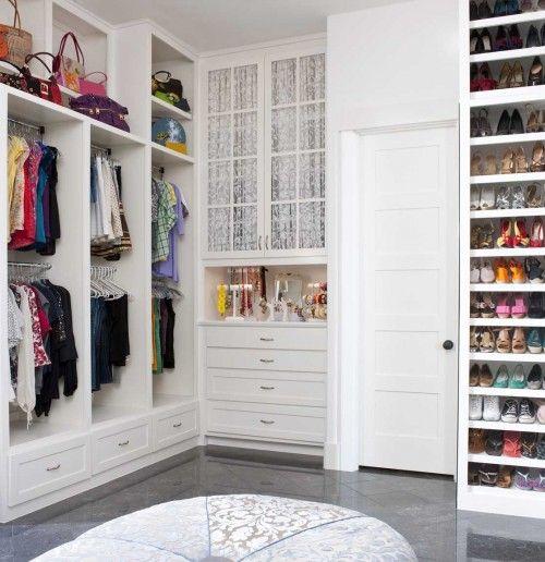 awesome closet.Closets Ideas, Interiors, Dresses Room, Master Closet, Organic Closets, Shoes Racks, Closets Spaces, Walks In, Dreams Closets
