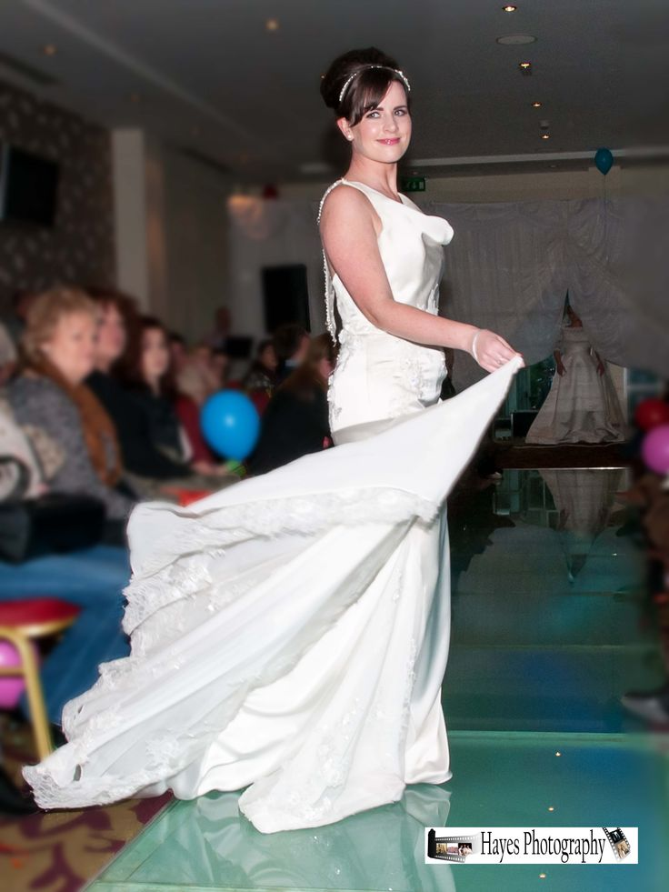 Charity Wedding Fair held at the Raddisson Blu Cork Clothes provided by Diamond Bride and Diesel