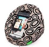 Tabcoosh Velvet Circles Ipad Mini Cushion