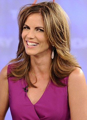 Natalie Morales on the 'Today' Show. Haircut