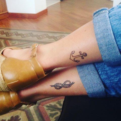 #tattoo #tattooinspiration #inked #ink #nodo #ancora