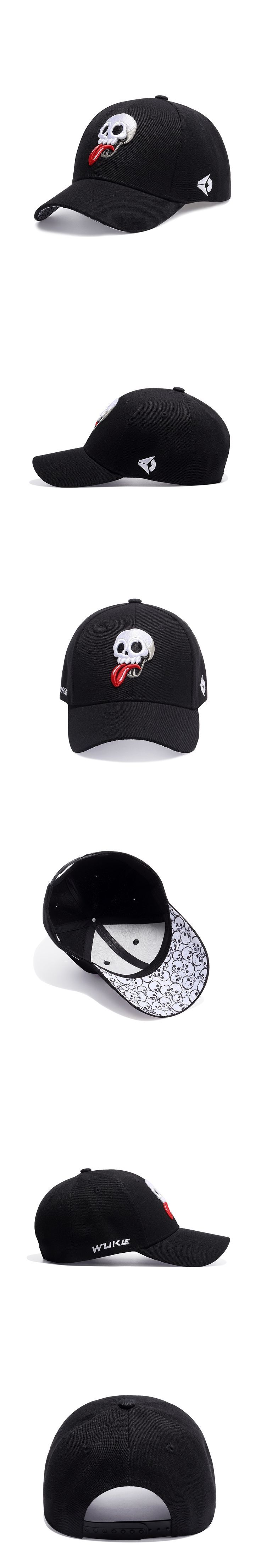 Swag Design Baseball Cap Funny Skull Embroidery Cap Men Hip hop Caps Embroidered Logo Summer Sun Hat Trucker Hats For Women