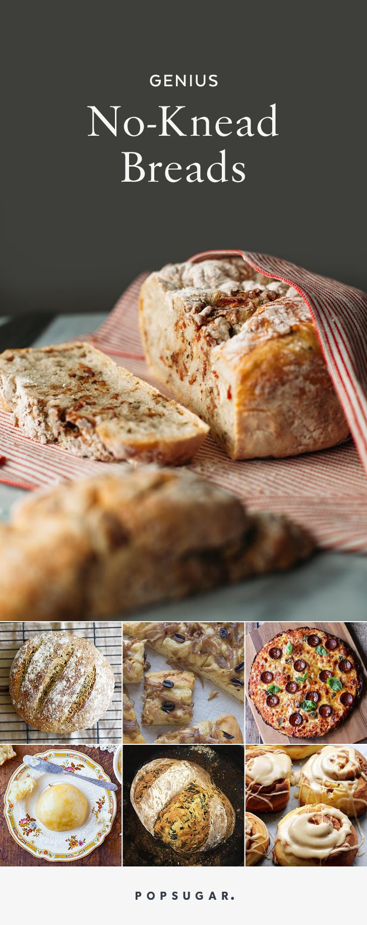 16 genius variations on no-knead bread