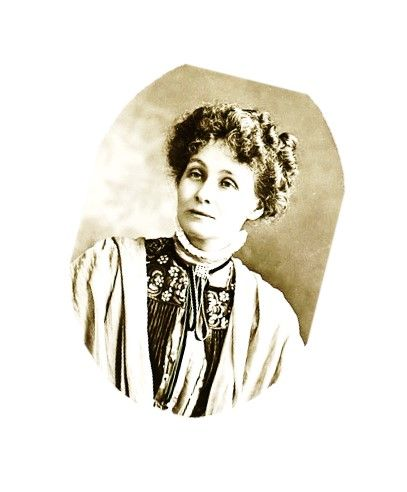 This is Emmeline Pankhurst. She was the founder of the Women's Social and Political Union, known as the Suffragettes. She led the Suffragettes with her daughters, Christabel and Sylvia, in the battle for the right to vote.