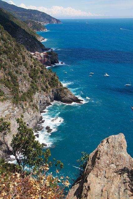 Ligurian Coastline - Cinque Terre - Vernazza