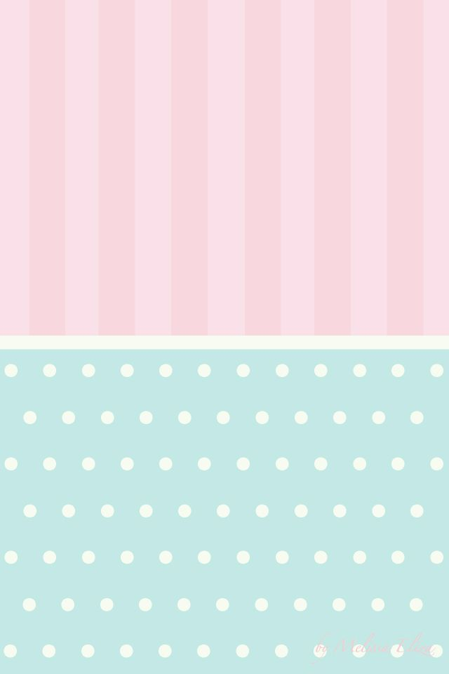 Light Pink And Blue Bg