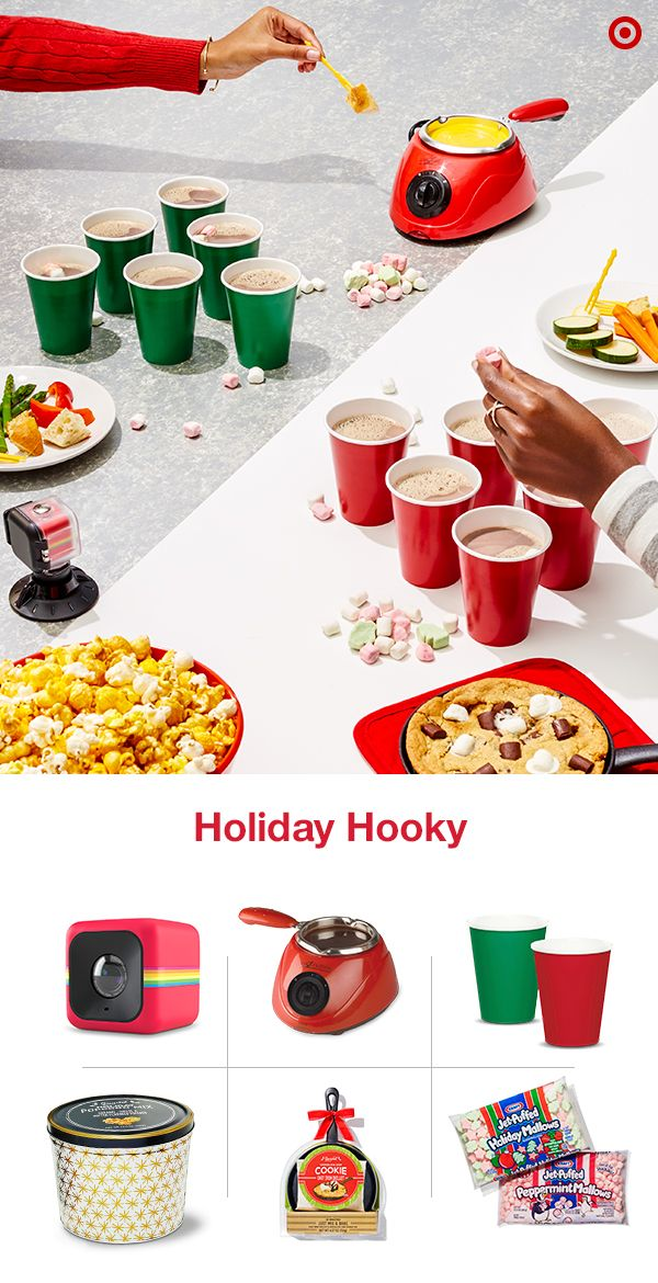 Face it - everyone needs a break from the holiday hustle and bustle. Whether you have a home away from home or you just want to spend the day as a duo, playing holiday hooky is great plan for de-stressing during the Christmas season. Set-up the fondue pot for a spin on the traditional. Then, bring out a delicious skillet s'more dessert, tabletop board games and even a game of hot cocoa pong.