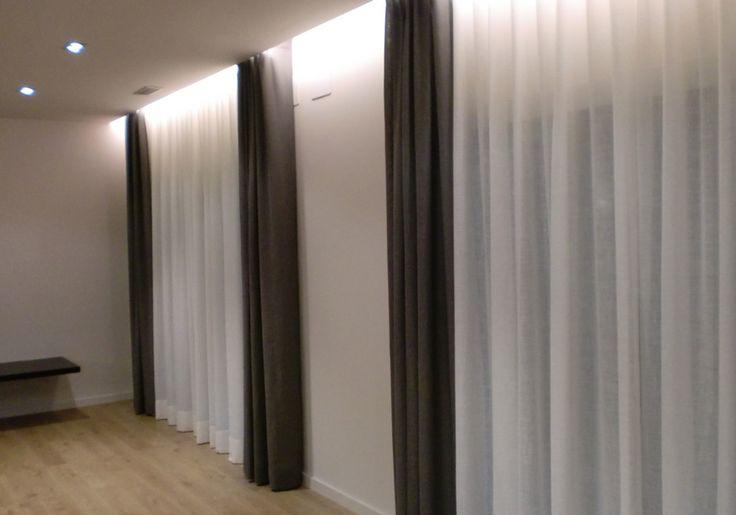 Ideas cortinas para salón.