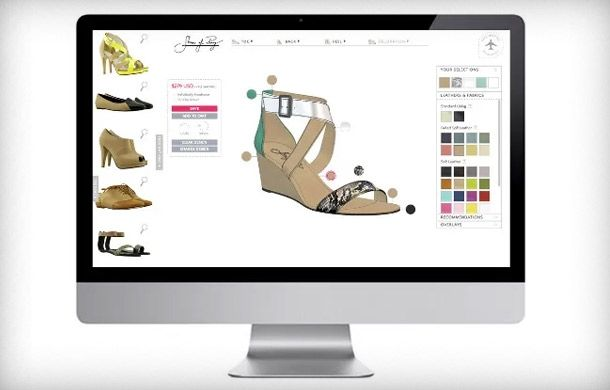 Shoes of Prey is one of many companies allowing customers to created customized premium products.