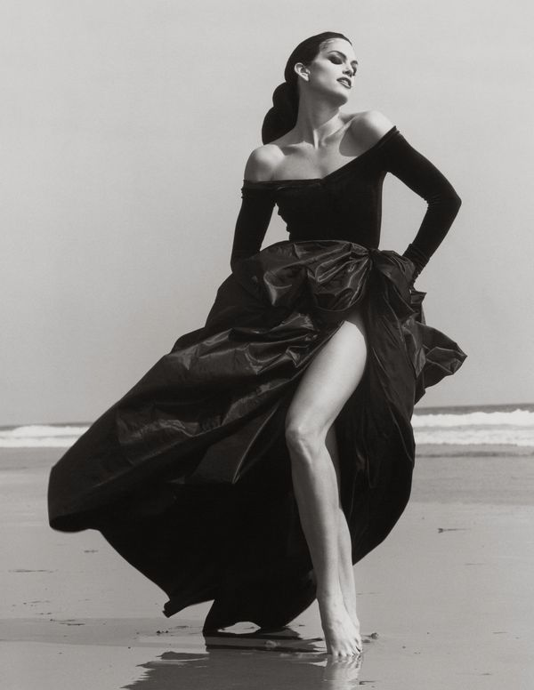 "Cindy Crawford, ""Herb Ritts: L.A. Style"" exhibit at the J. Paul Getty Museum through Aug. 26."