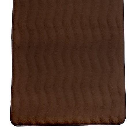 449 140   Lavish Home Memory Foam Extra Long Reversible Bath Rug Mat