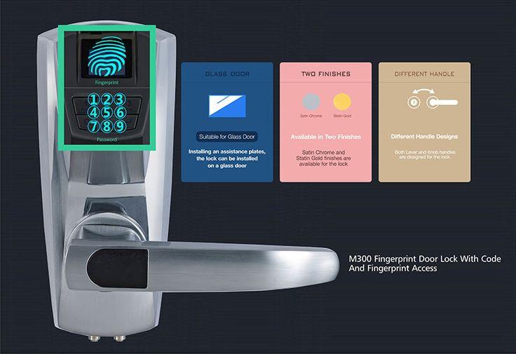 M300 Fingerprint Digital Door Lock