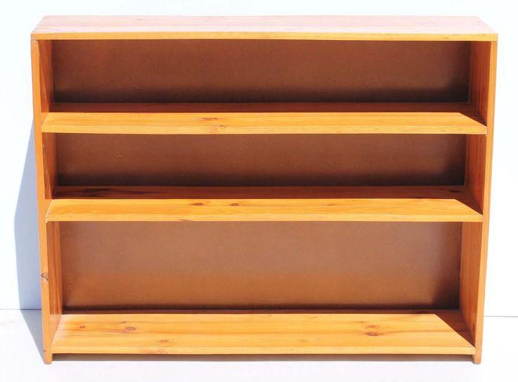 Solid Pine Bookshelf  size: 1220 L x 300 W x 920 H  @R450  Call 076 706 4700  www.furnicape.co.za  0918