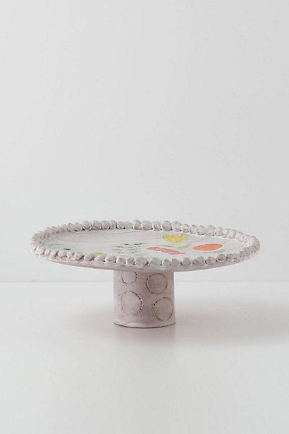 oleander cake stand